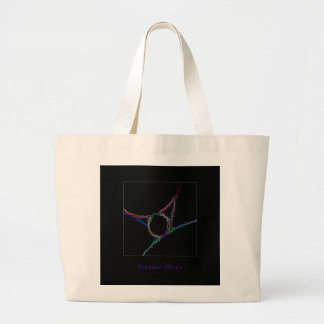 Wormhole Physics Jumbo Tote Bag
