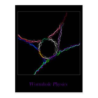 Wormhole Physics Postcard