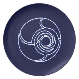 Wormhole plate