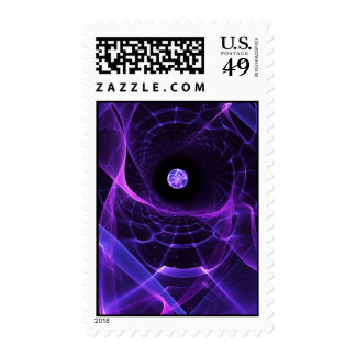 Wormhole Postage Stamp
