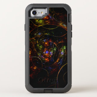 Wormhole Science Fiction Fractal OtterBox Defender iPhone 7 Case