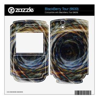 Wormhole BlackBerry Tour Decal