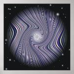 Wormhole Trip Optical Illusion Poster