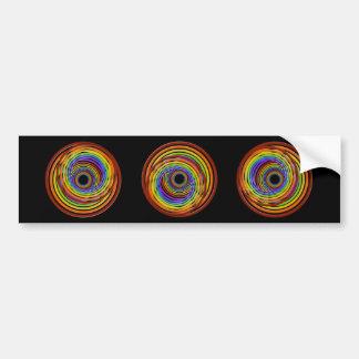 Wormhole Vortex Bumper Sticker