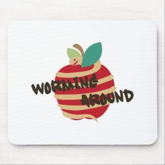 Worming Around Mousepad