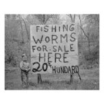 Worms For Sale, 1935 Posters