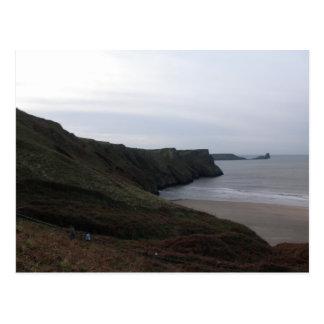Worm's Head Beach Postcard