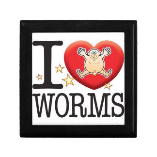 Worms Love Man Jewelry Box
