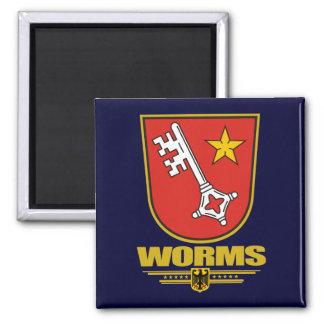 Worms Refrigerator Magnet