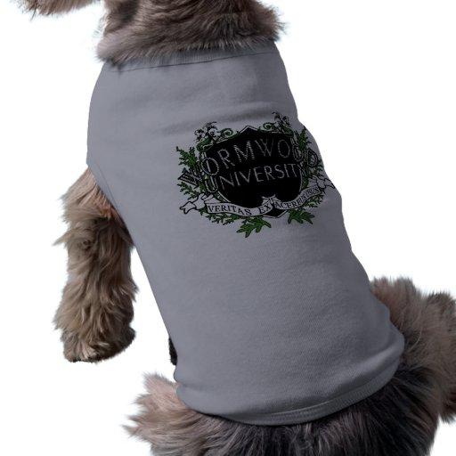 Wormwood University Dog Clothes
