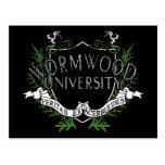 Wormwood University Postcard