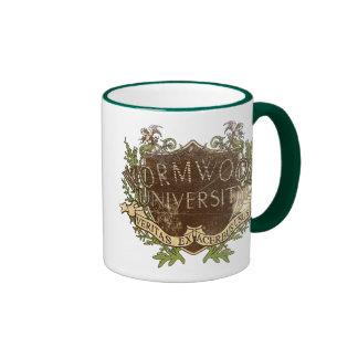 Wormwood University Vintage Ringer Coffee Mug