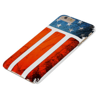 worn American flag Barely There iPhone 6 Plus Case