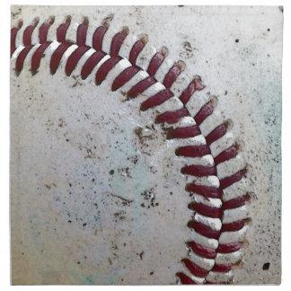 Worn Baseball Napkins