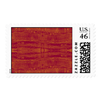 Worn Brick Wall Postage Stamps