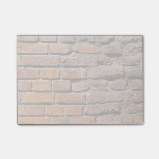 Worn Bricks Post-it Notes