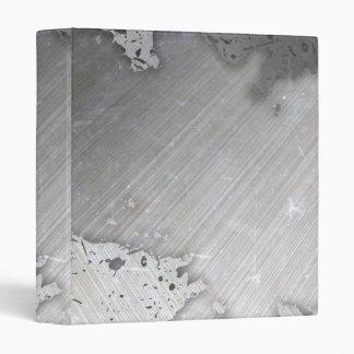 Worn Brushed Metal (faux) Layout Binder