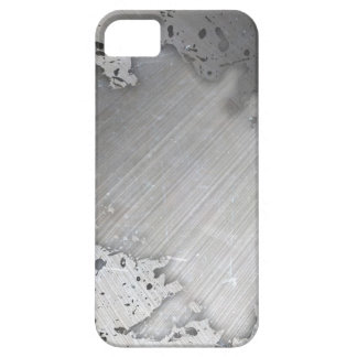 Worn Brushed Metal (faux) Layout iPhone 5 Covers
