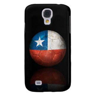 Worn Chilean Flag Football Soccer Ball Galaxy S4 Cover