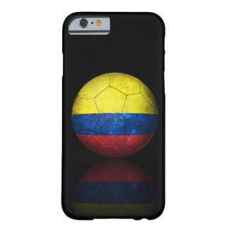 Worn Colombian Flag Football Soccer Ball Barely There iPhone 6 Case