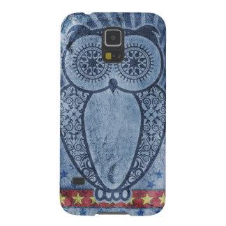 Worn Denim Hootie Owl Case For Galaxy S5