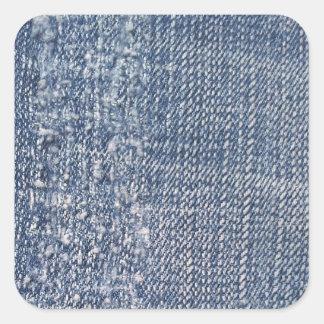 Worn Denim Jeans-Look Stickers