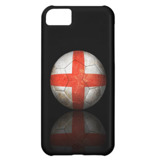 Worn English Flag Football Soccer Ball iPhone 5C Cover