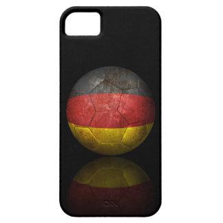 Worn German Flag Football Soccer Ball iPhone 5 Case