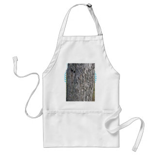 Worn grey wooden tree trunk aprons
