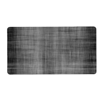 Worn Grunge Cloth Personalized Shipping Labels