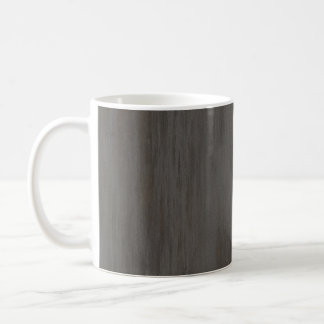 Worn Grungy Brushed Metal Coffee Mug