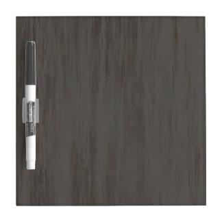 Worn Grungy Brushed Metal Dry-Erase Board