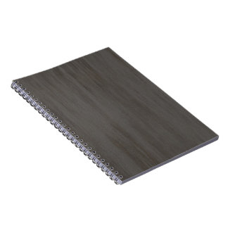 Worn Grungy Brushed Metal Notebook