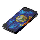Worn Idaho Flag Case-Mate iPhone 4 Cases