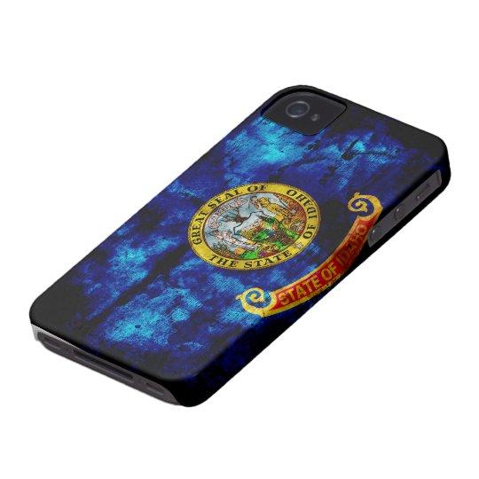 Worn Idaho Flag iPhone 4 Case