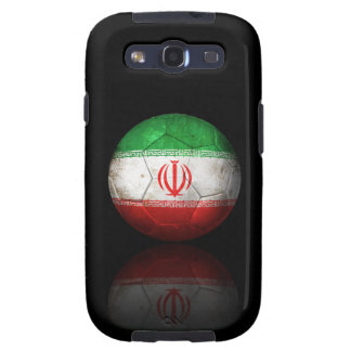 Worn Iranian Flag Football Soccer Ball Samsung Galaxy S3 Covers