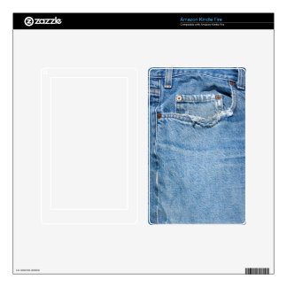 Worn Jeans Kindle Fire Skins For Kindle Fire