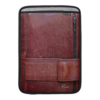 """Worn Leather Effect For Macbook Air 13"""" Sleeve For MacBook Air"""