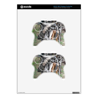Worn leather horse bridles and bits xbox 360 controller skin