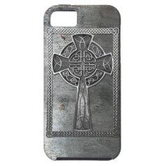 Worn Metal Cross iPhone 5 Cases