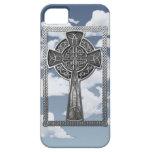 Worn Metal Cross iPhone SE/5/5s Case