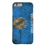 Worn Oklahoma Flag; Barely There iPhone 6 Case