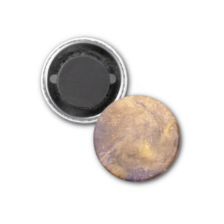 Worn old book cover 1 inch round magnet