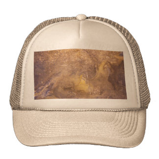 Worn old book cover trucker hat