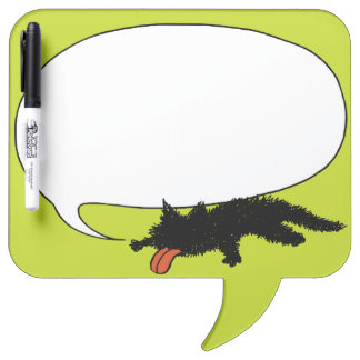 Worn out Kitten yellowish green Dry Erase Boards