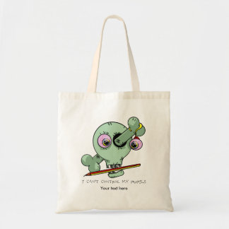 Worn Out Over Worked Teacher Funny Customizable Budget Tote Bag