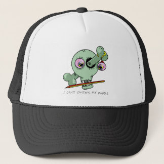Worn Out Over Worked Teacher Funny Customizable Trucker Hat