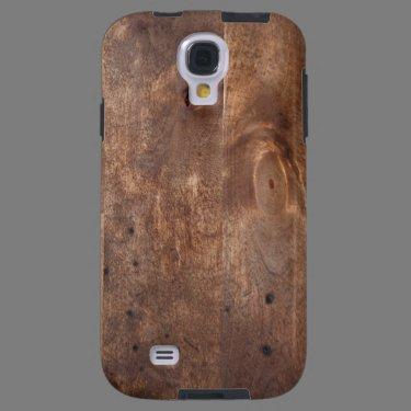 Worn pine board