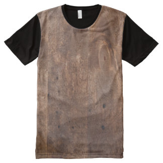 Worn pine board All-Over print t-shirt