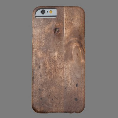 Worn pine board barely there iPhone 6 case